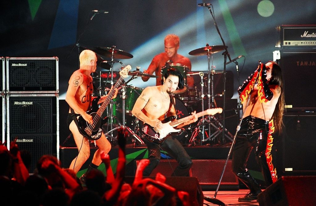 Red Hot Chili Peppers, turnê de One Hot Minute, 1995.