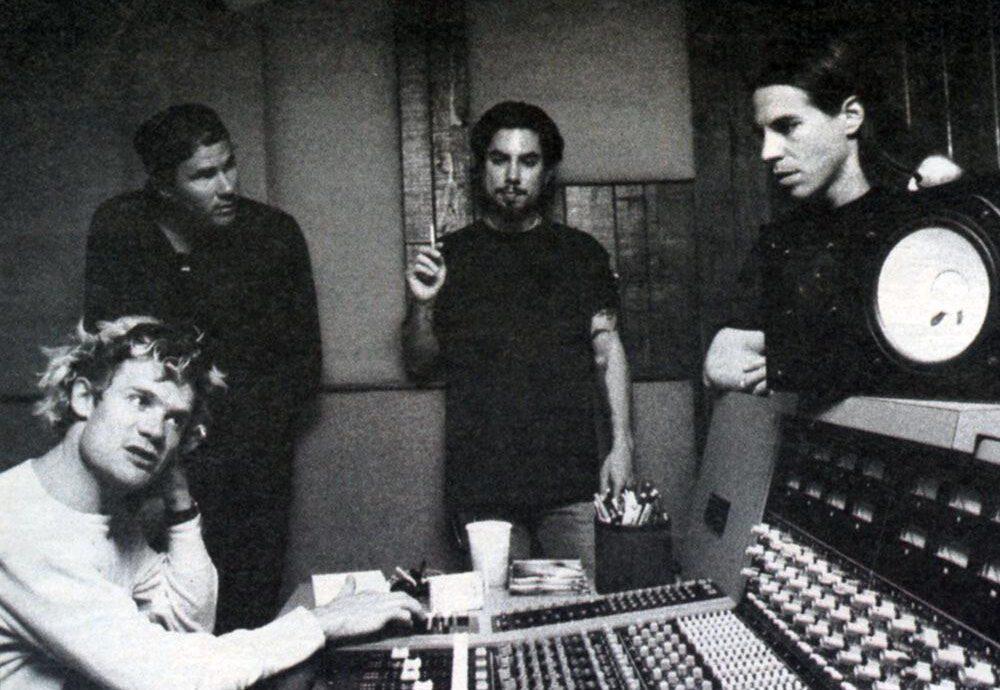 Gravações de One Hot Minute, 1994.